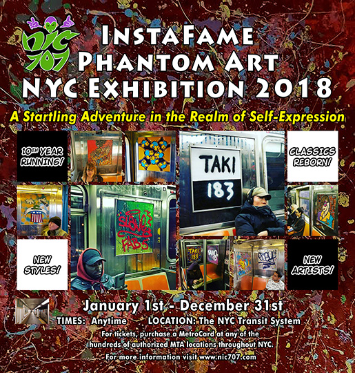 """IFPA NYC Exhibition 2014"" Poster Copyright © 2014"